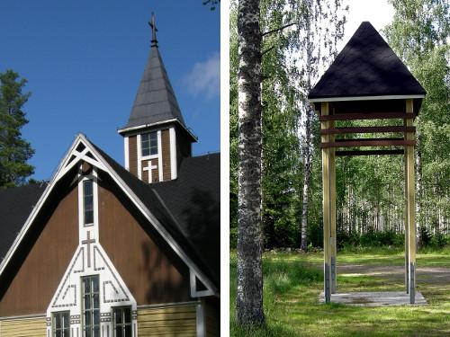 Himalansaaren kirkko ja kellotapuli