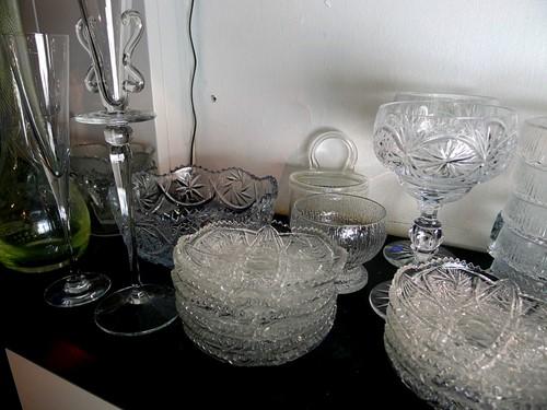 Joulukirppis: lasia ja kristallia