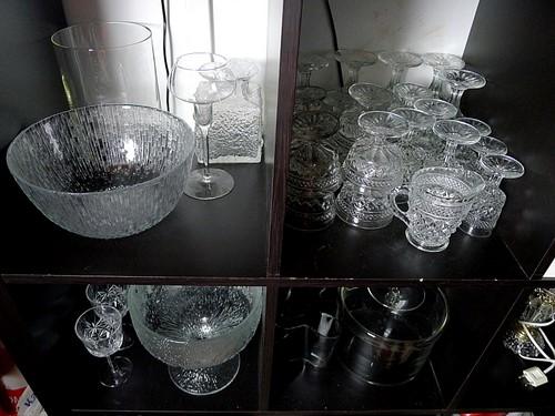 Joulukirppis: laseja, kulhoja, Aalto-maljakko
