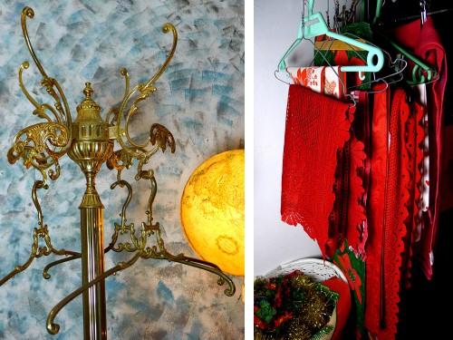 Joulukirppis: naulakko ja joululiinoja