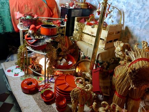 Joulukirppis: glögivälineet, joulutavaraa
