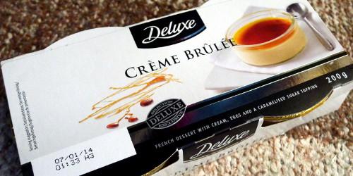 Lidl Deluxe Crème brûlée -pakkaus