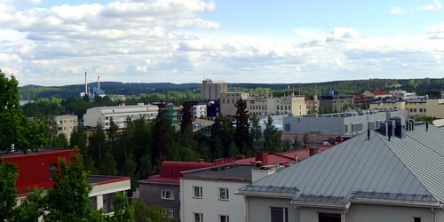 Maisema Naisvuoren näkötornilta, Mikkeli