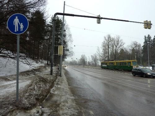 Paciuksenkadun mäki Helsingissä