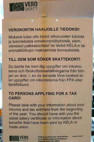 Verottajan verokorttiohje