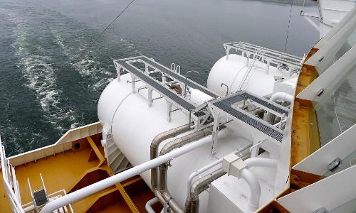 M/S Viking Grace: LNG-polttoainesäiliöt