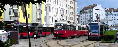 Wienin joukkoliikennettä
