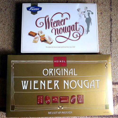 Wiener Nougat: Fazer ja Heindl