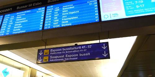 Kamppi, Espoon bussit