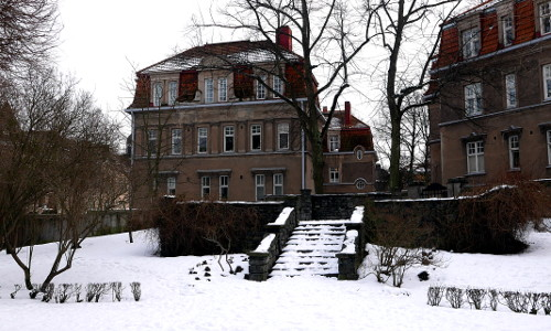 Georg Henrik von Wrightin terassi, talvikuva