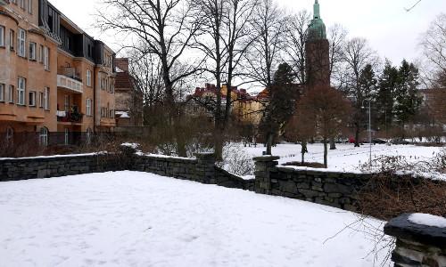 Georg Henrik von Wrightin terassi, toinen talvikuva