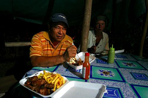 Bataca barbecue, Kalinago Territory