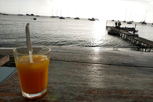 Rum punch, Portsmouth (Dominica)