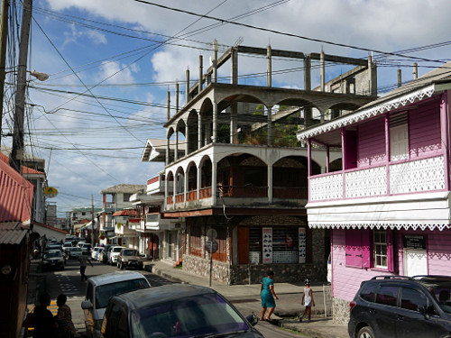 Independence Street, Roseau, Dominica