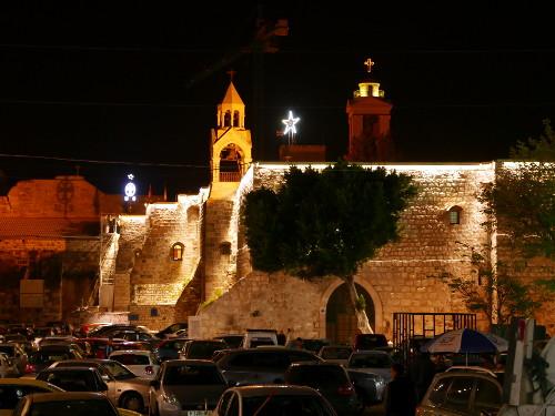 Jeesuksen syntymäkirkko Bethlehemissä