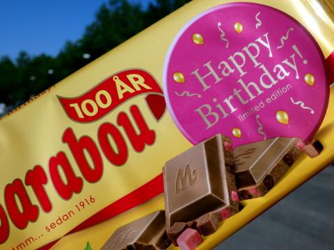 Marabou Happy Birthday 100 vuotta -suklaa