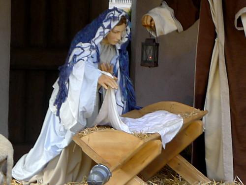 Maria ja tyhjä seimi