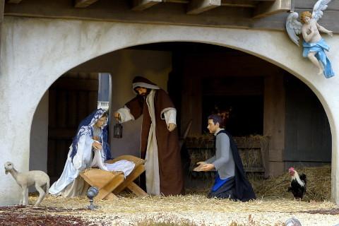 Jouluseimi Vatikaanissa, mutta missä Jeesus-lapsi?