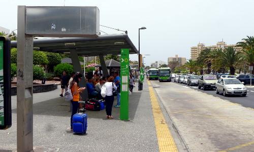 Los Cristianosin bussiasema
