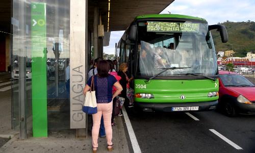 Titsa 102, Aeropuerto del Norte
