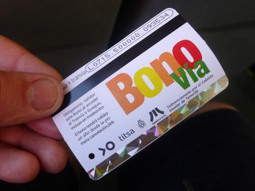 Bono Vía, Teneriffa