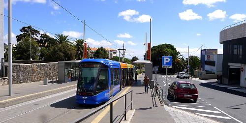 Tranvía 1, Intercambiador de La Laguna