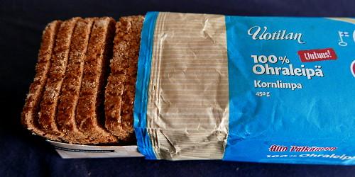 Uotilan Leipomon 100% ohraleipä