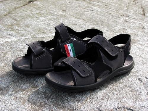 Klingel sandaalit, nahkaa, harmaat, 39,99 eur