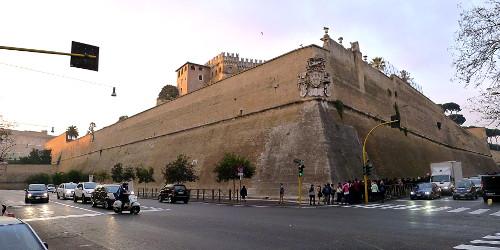 Vatikaanin muuri
