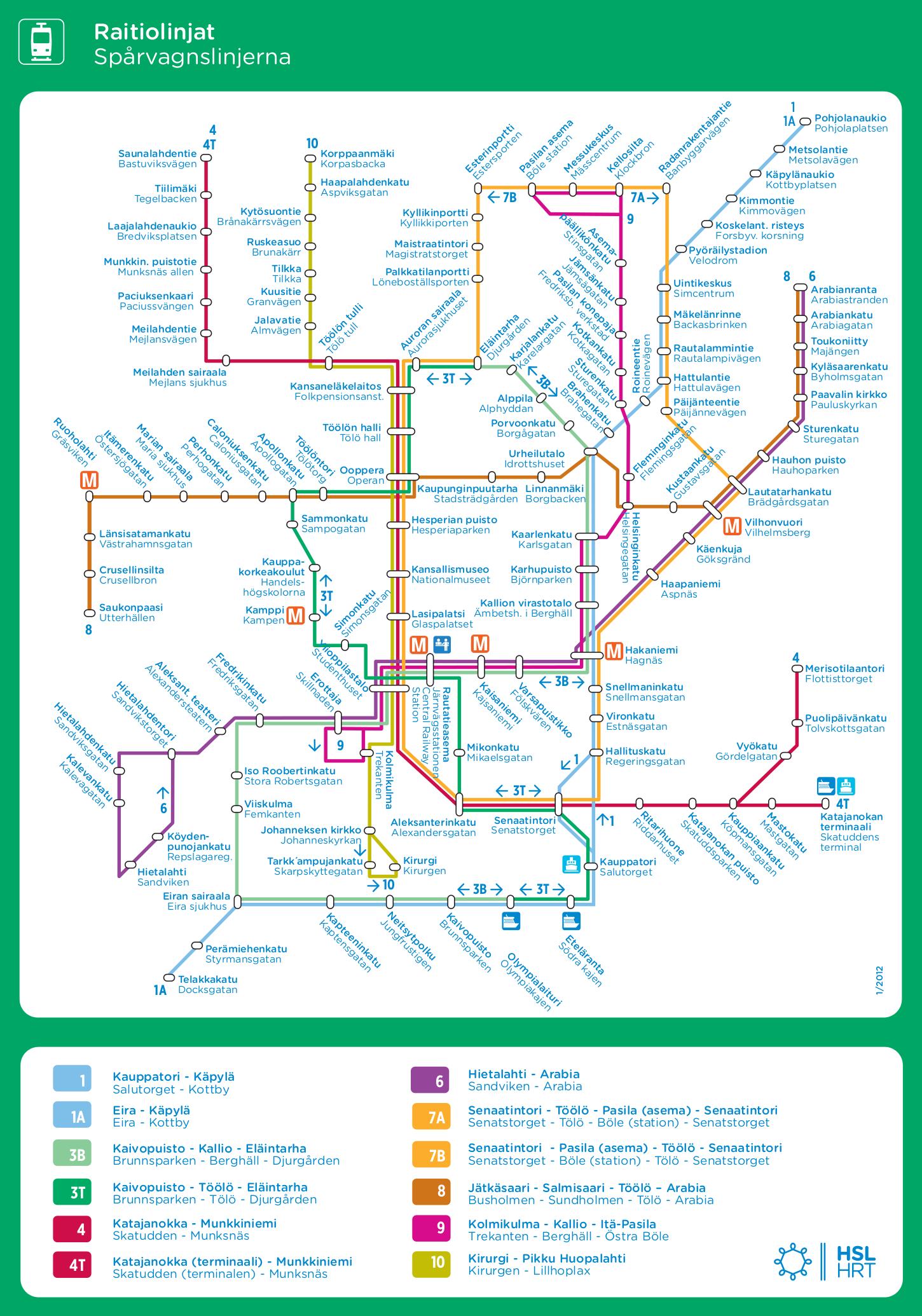 HELSINKI REGION Public transport infrastructure Joukkoliikenne