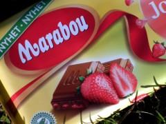 Marabou Jordgubb -mansikkasuklaa
