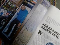 Mies baarin jääkaapissa (Huili 4/2012)