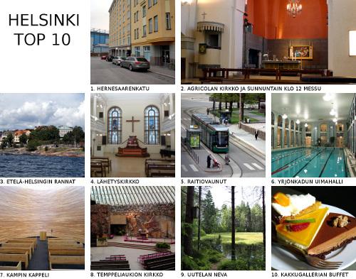 Helsinki Top 10