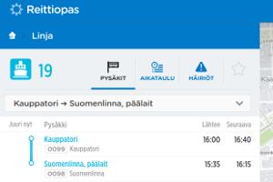 Suomenlinna lautta, HSL 19