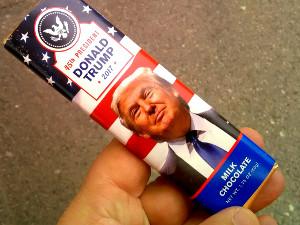 Trump-suklaa