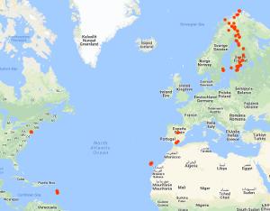 Googlen sijaintihistoria