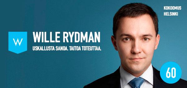 Wille Rydman, Kokoomus