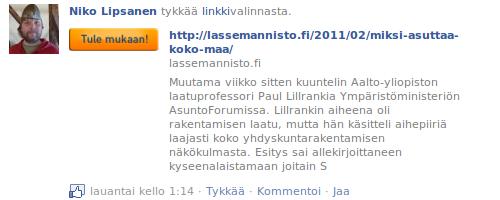 Facebook Tykkää
