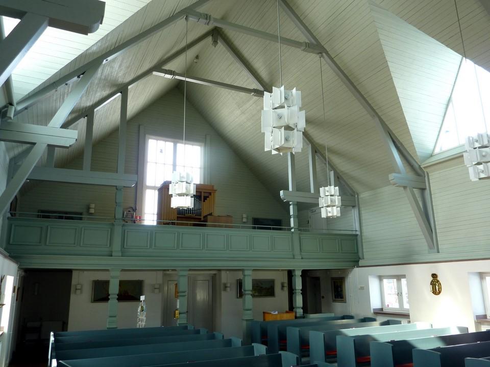 L'arrière de l'église