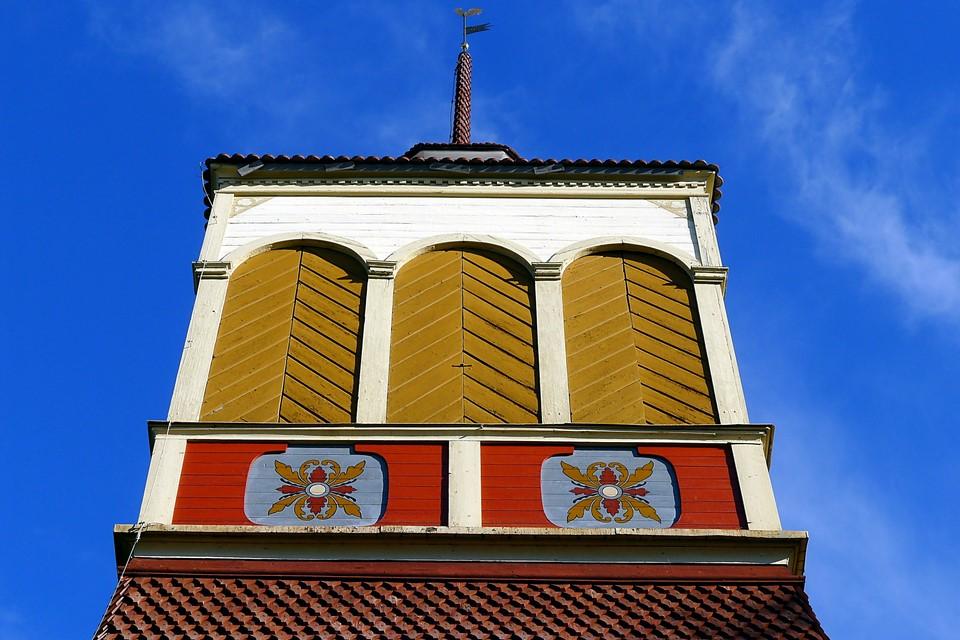 Une autre vue du clocher