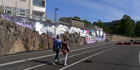 A graffiti work by Janne Siltanen