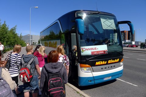 Rindellin Onnibus Kupittaalla