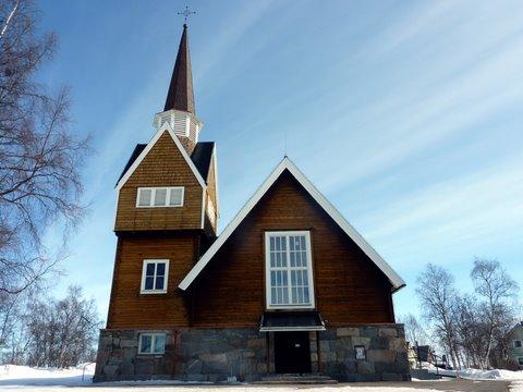 L'église de Karesuando