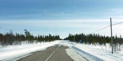 The road Riksväg 99