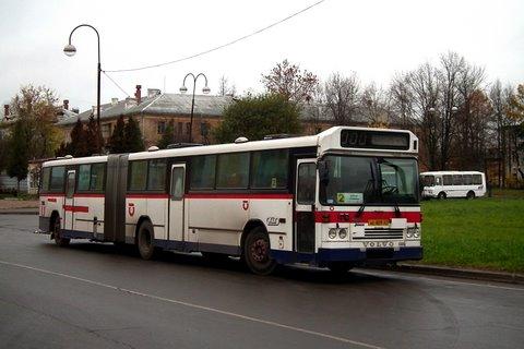 Autobus articulé Volvo