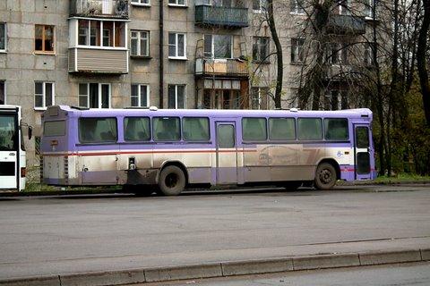 Nous avons pris cet autobus de ligne 23 pour Staraïa Ladoga
