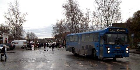 Une autre photo du même autobus Volvo sur la ligne 23
