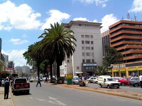 Nairobin keskusta