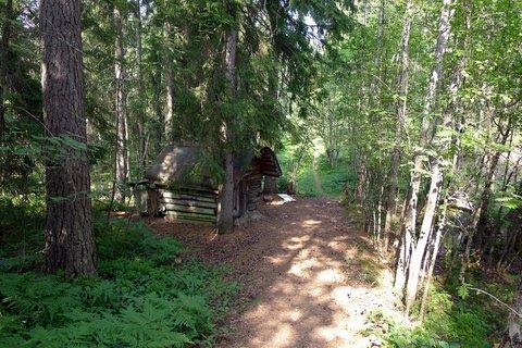 Maison de la société et Mehutie (Chemin de la sève)