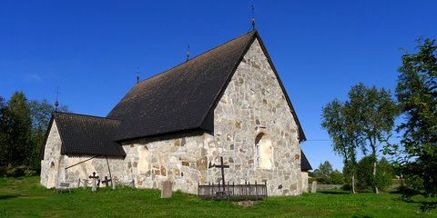 Keminmaa medieval stone church